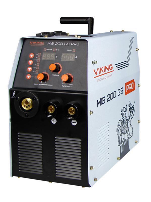 Сварочный инвертор VIKING MIG 200GS PRO