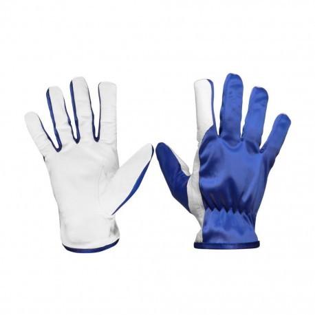 Перчатки комбинированные кожаные TETU 201