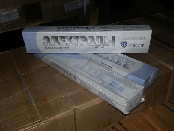 Электроды сварочные ОЗС-12 ф3 (3кг)