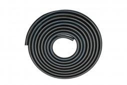 Рукав газовый  ф 6,3мм (черный с синей полосой) бухта 40м