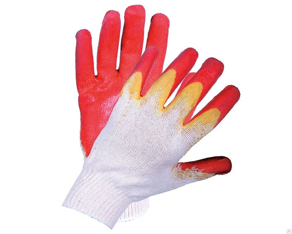 """Перчатки с двойным латексным покрытием """"Аленка"""""""